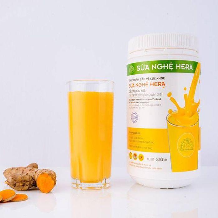 Sữa Nghệ Hera được xem là Thức uống có thể thay thế cho nhiều thực phẩm khác